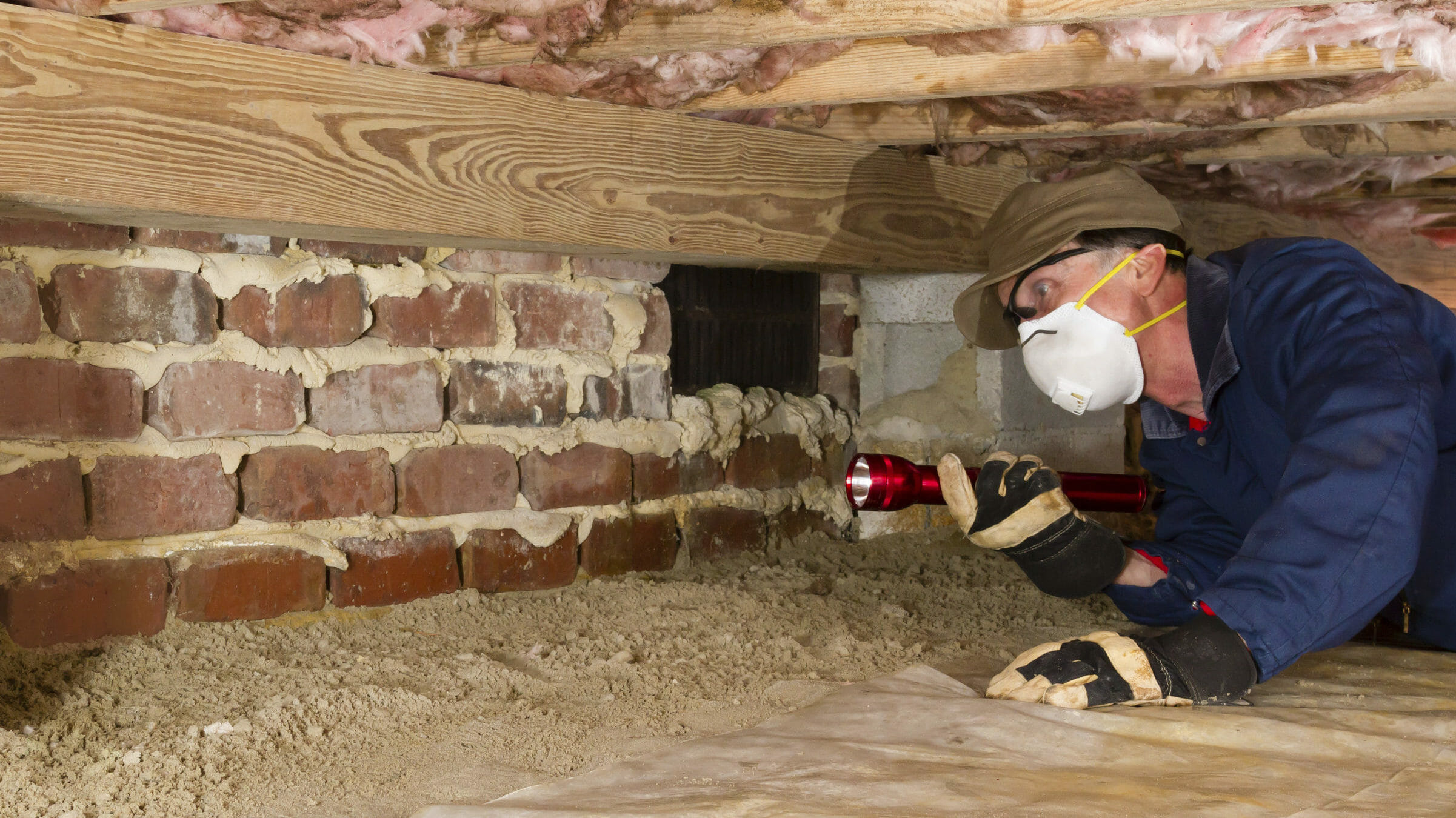 Under Home Crawlspaces…Should You Enter?