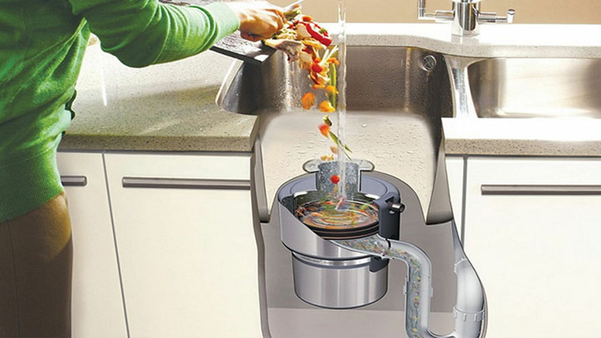 Kitchen Garbage Disposal Units