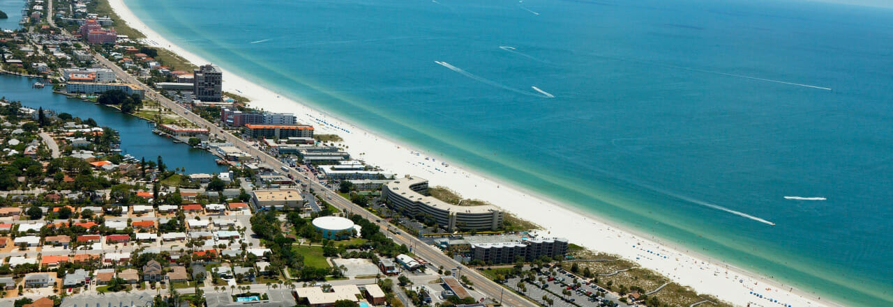 St. Pete Beach Aerial View